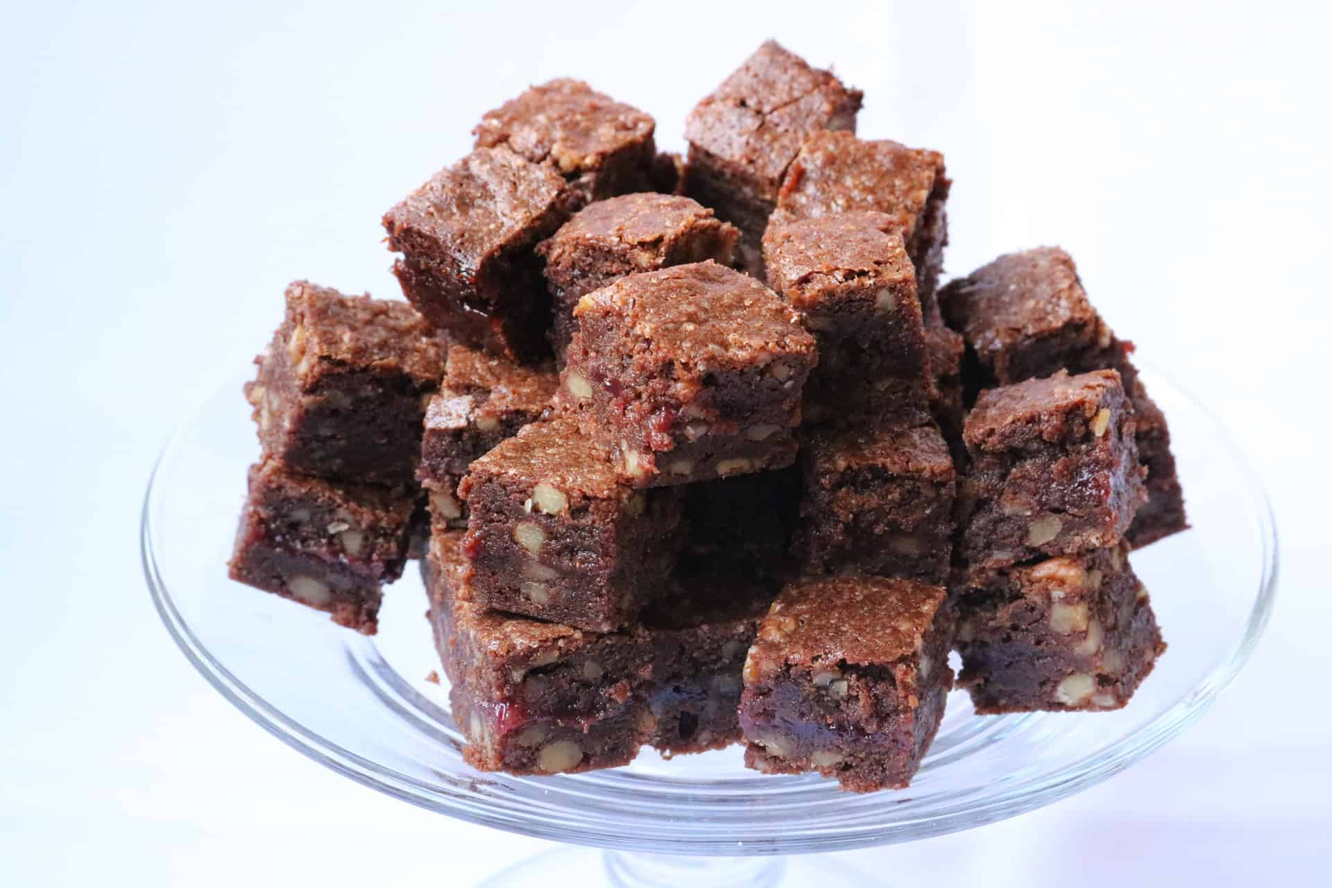 Brownies Con Frambuesa