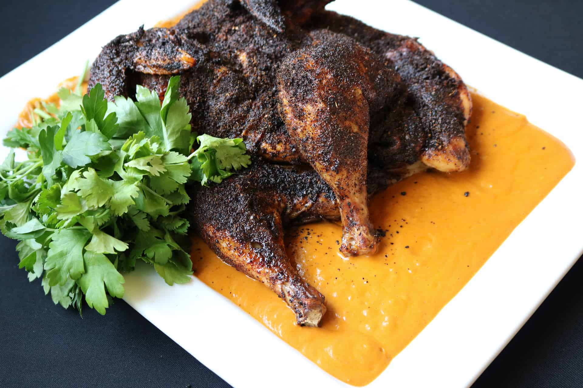 Pollo Abierto Enchilado