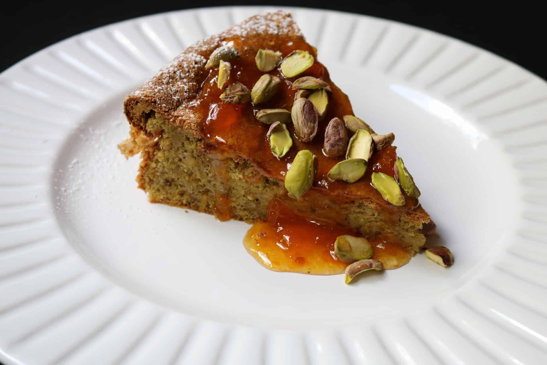 Torta (pastel) de pistacho