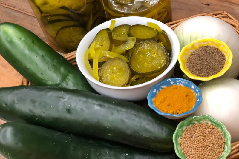 Pickles Dulces (Pepinillos)