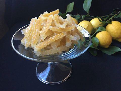 Cáscaras De Limón Confitado