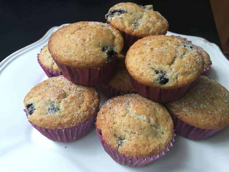 Bollitos De Manzana o Blueberry