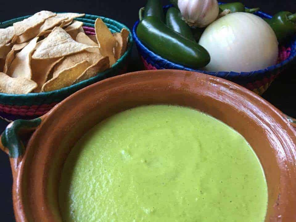 Salsa Cremosa De Chile Jalapeño