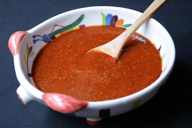 Salsa De Chile De Árbol Tostado