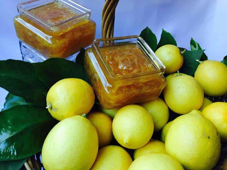 Mermelada De Limón Amarillo