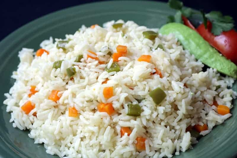Arroz blanco receta for Como cocinar arroz