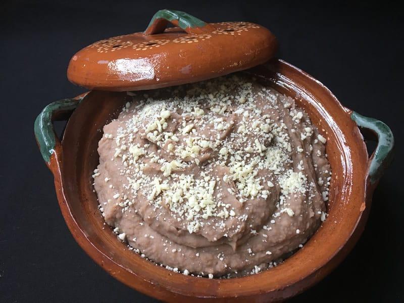Frijoles Refritos Sin Manteca De Puerco
