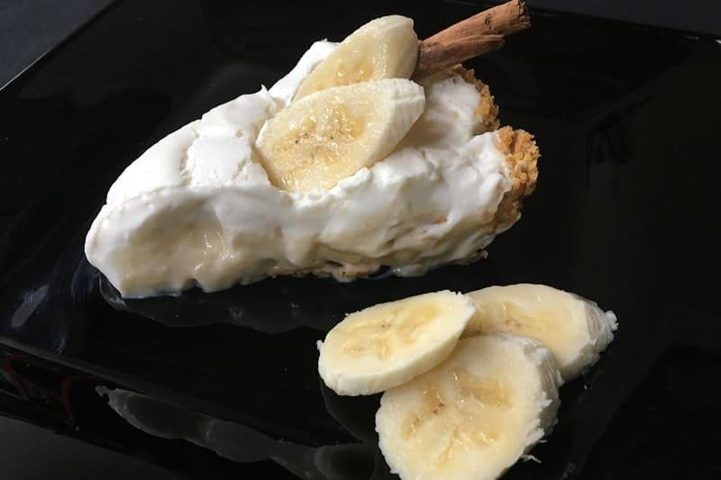 Pay De Plátano Con Crema