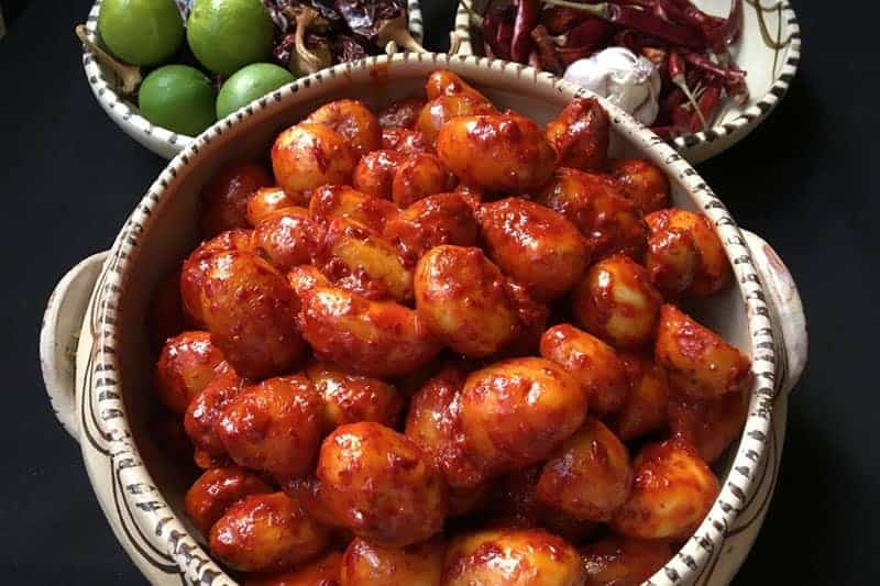 Papitas Enchiladas