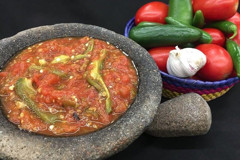 Salsa De Chile De Tomate Asado