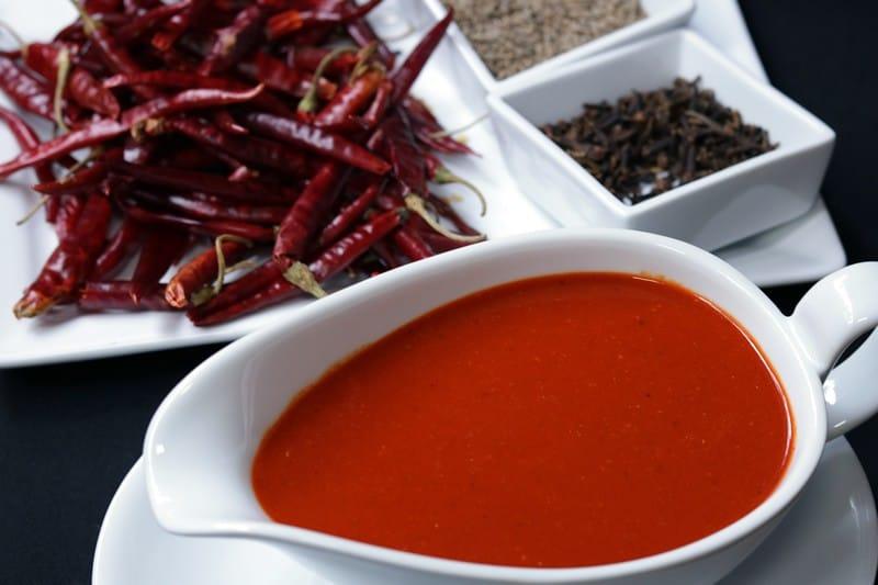 Salsa De Chile De Árbol y Comino
