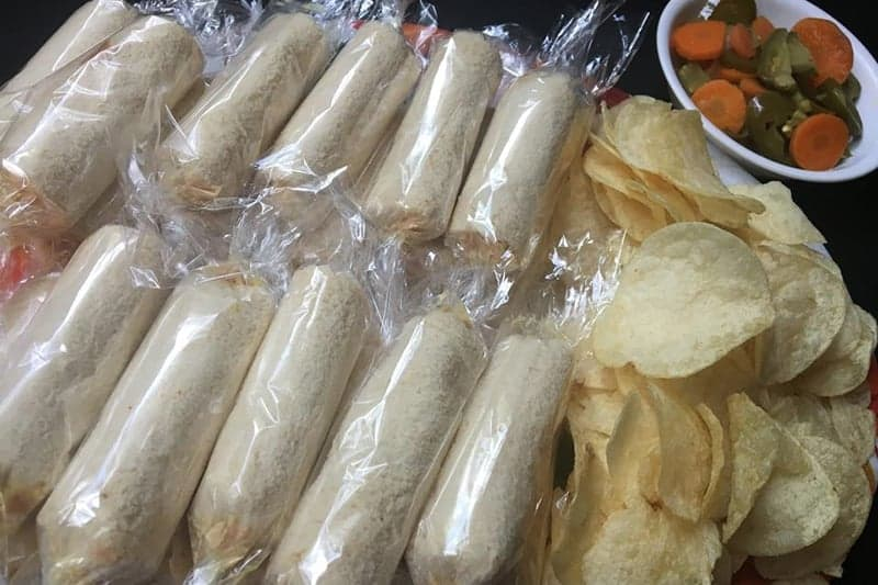 Sandwichitos De Piñata