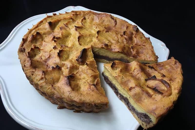 Torta De Plátano Macho…