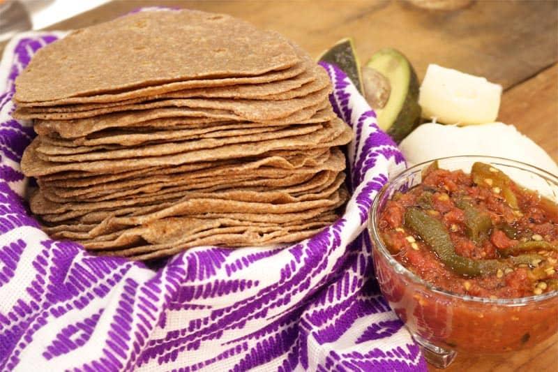 Tortillas De Harina Integral