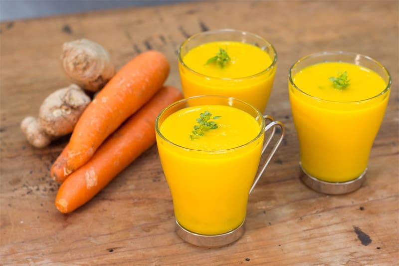 Sopa De Zanahoria, Coco y Gengibre en Thermomix
