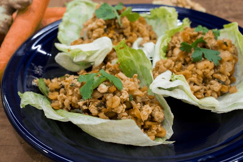 Tacos Chinos De Pollo