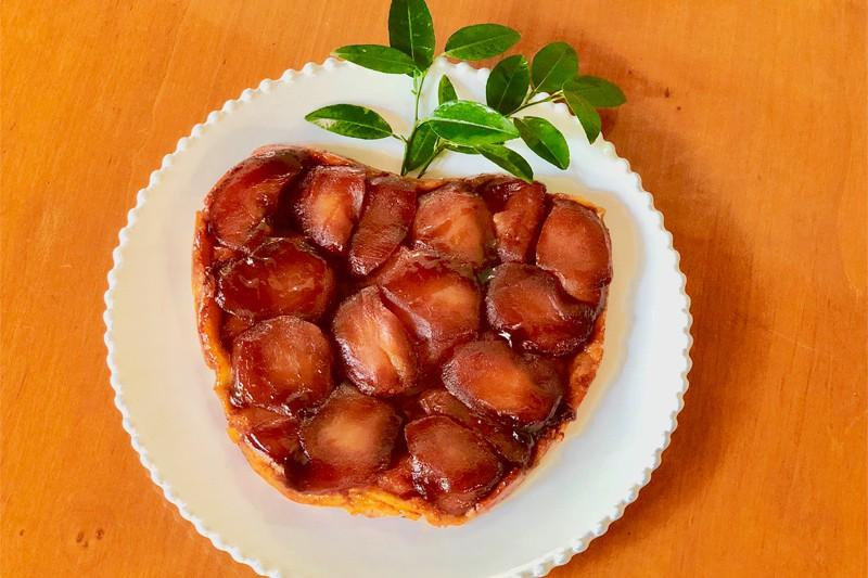 Tarta Tatin (Tarta volteada de manzana)