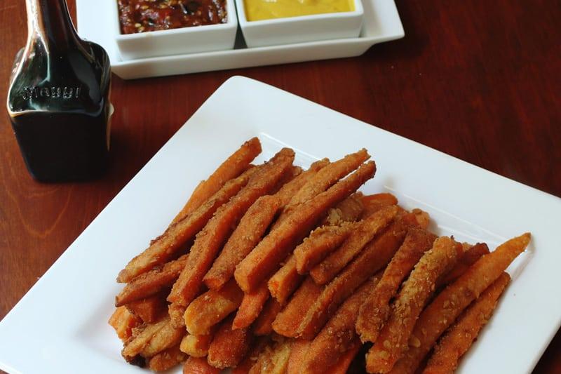 Zanahorias Empanizadas