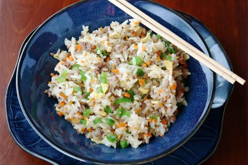 Arroz frito japon s cocinar y gozar for Cocinar 2 tazas de arroz