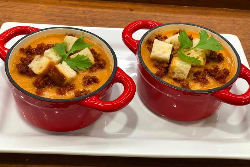Sopa De Habas Con Chorizo