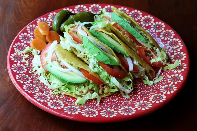 Tacos De Pollo Fritos