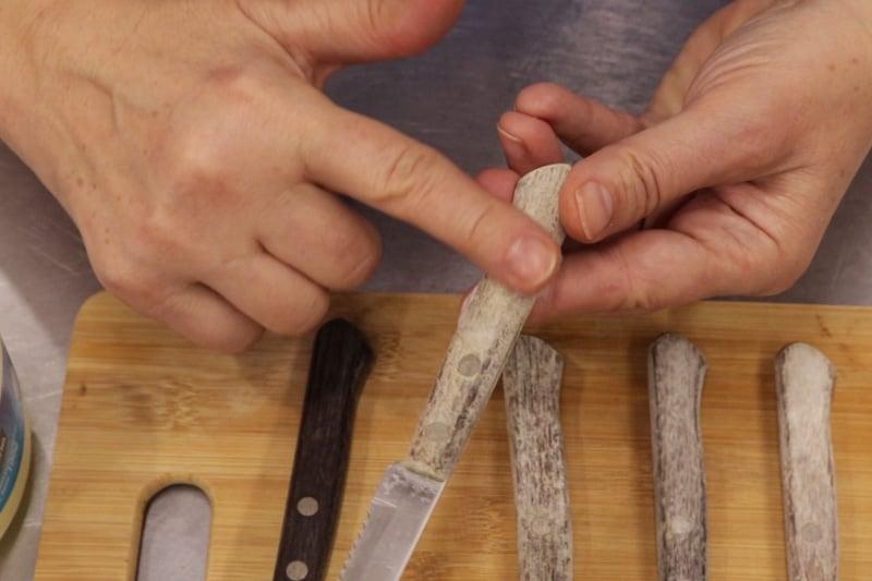 Renovar Cuchillos Con Mango De Madera