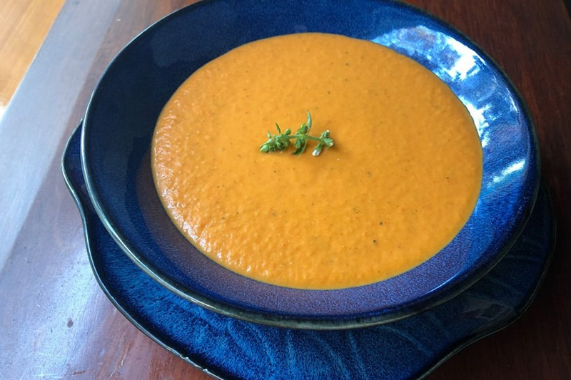 Sopa De Pimientos y Tomate