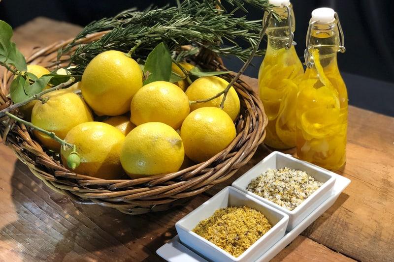 Condimentos Hechos Con Cáscara De Limón