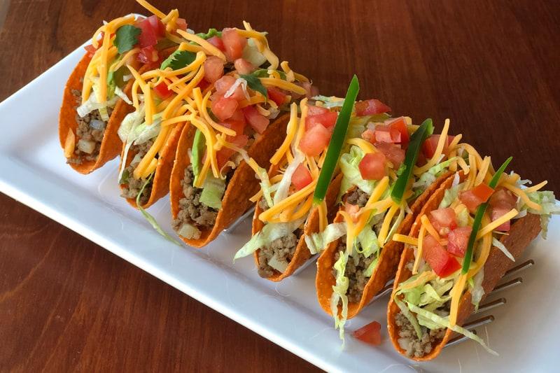 Tacos Tostados