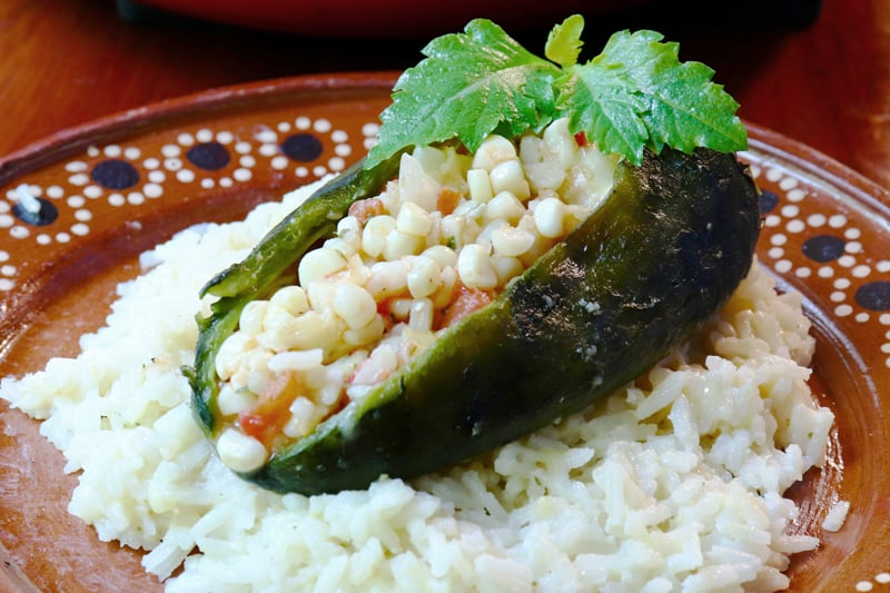 Arroz Blanco Con Chiles…
