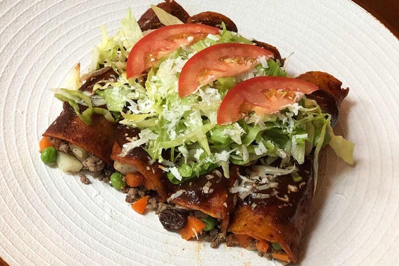 Enchiladas Estilo Colima