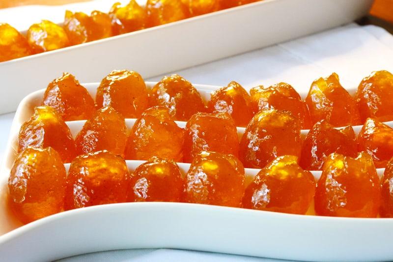 Naranjitas Conquat Rellenas De Su Miel